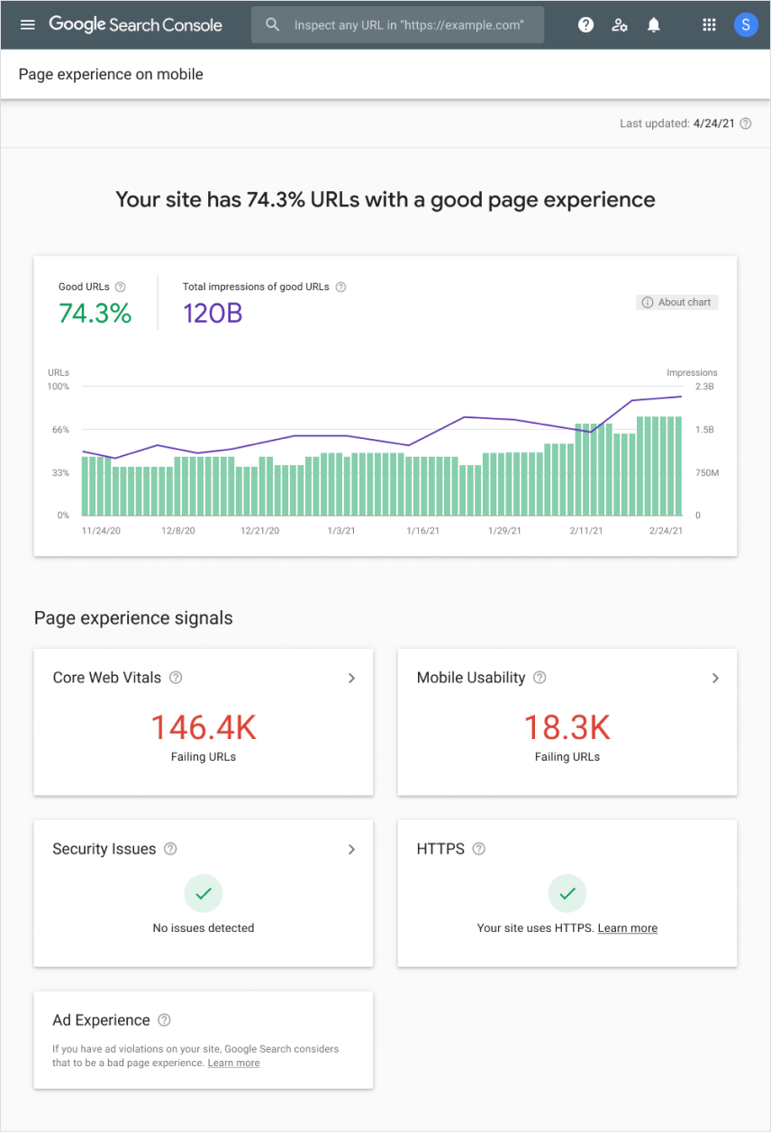 Google Page Experience Signals & Factors